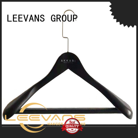 LEEVANS Wholesale wood slack hangers for business for pants