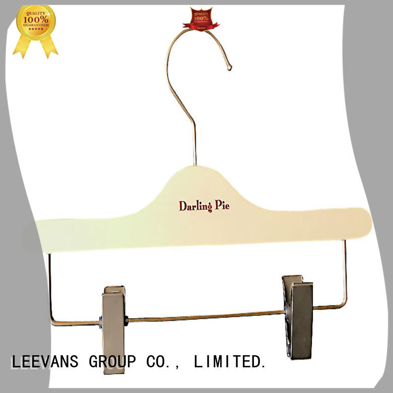 LEEVANS Custom wholesale clothes hangers for business for clothes
