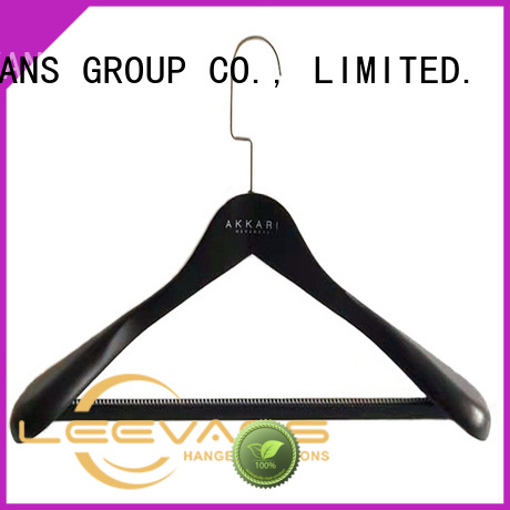 LEEVANS Wholesale timber coat hangers for business for trouser