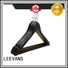 New small wooden coat hangers customized Suppliers for skirt