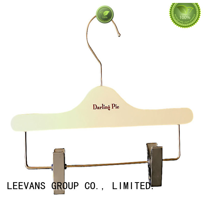 Latest timber clothes hanger specilized Suppliers for skirt