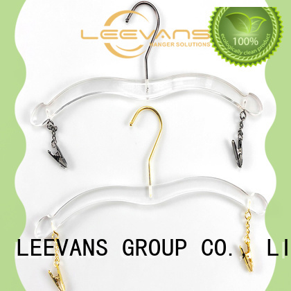 Best clear acrylic hangers top Supply for suits