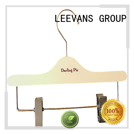 LEEVANS High-quality heavy duty wooden coat hangers Supply for pants