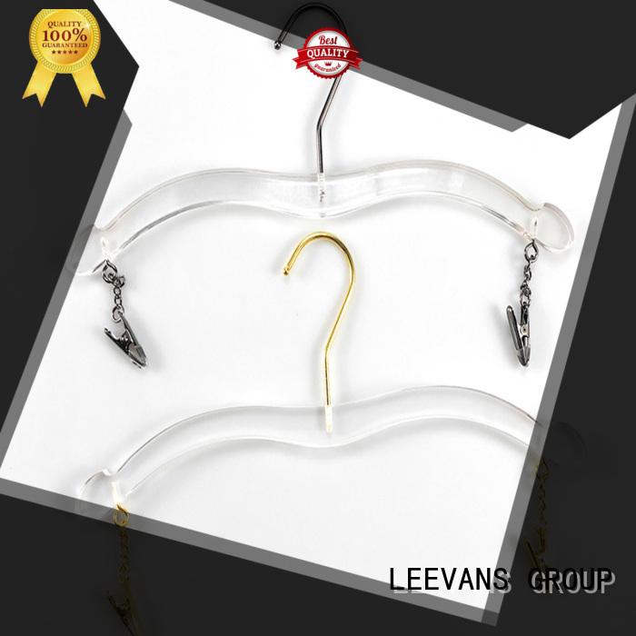LEEVANS plastic best coat hangers supplier for suits