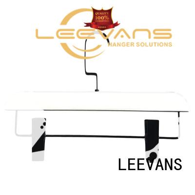LEEVANS extension wooden dress hangers supplier for trouser