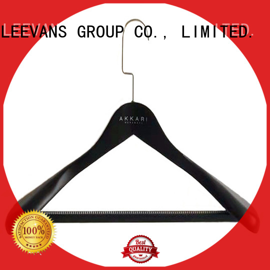 LEEVANS or childrens white wooden coat hangers for business for children