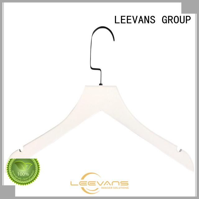 LEEVANS Top white wooden skirt hangers Suppliers for skirt
