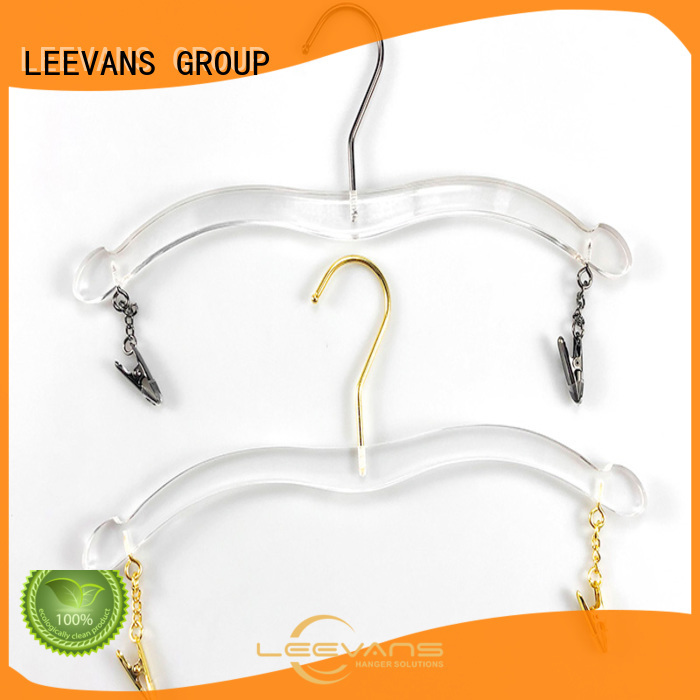 Custom acrylic hangers wholesale lucite factory for casuals