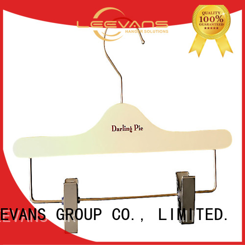LEEVANS pants dark wood hangers for business for clothes