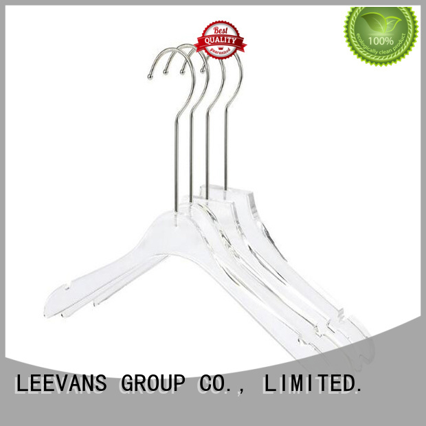 LEEVANS hot sale custom hangers wholesale wholesale for jackets