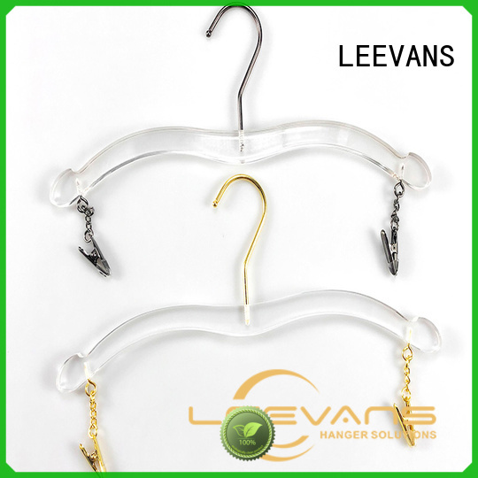 LEEVANS Wholesale custom coat hangers manufacturers for T-shirts