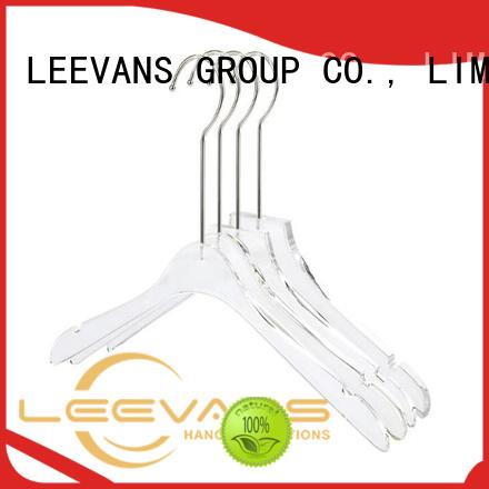 LEEVANS Wholesale office coat hanger for business for T-shirts