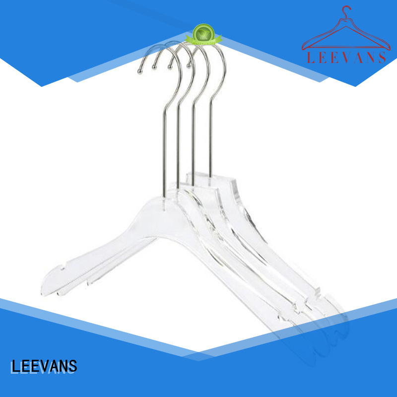 LEEVANS custom wholesale clothes hangers dress for sweaters